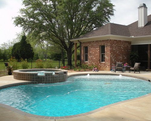Concrete Inground Swimming Pools Mobile AL | Kaiser Pools