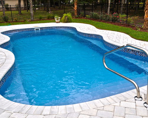 inground fiberglass swimming pool mobile