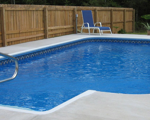 Vinyl Liner In Ground Swimming Pools Kaiser Pools