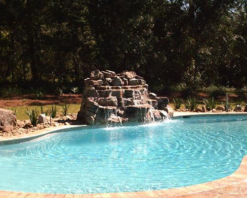 Concrete Inground Swimming Pools Mobile Al Kaiser Pools